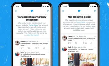Twitter teste des notifications qui vous indiquent si votre compte est suspendu ou verrouillé