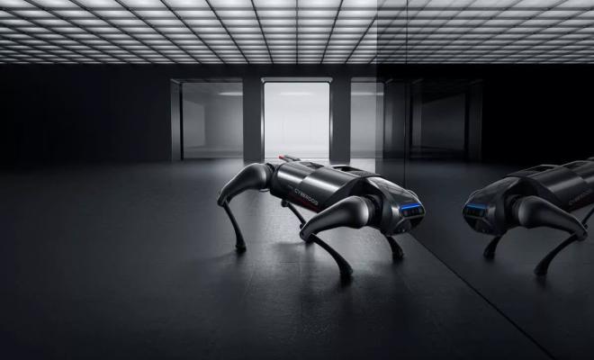 CyberDog : un nouveau robot quadrupède signé Xiaomi