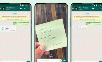WhatsApp s'équipe d'une fonctionnalité permettant d'envoyer des photos et des vidéos éphémères