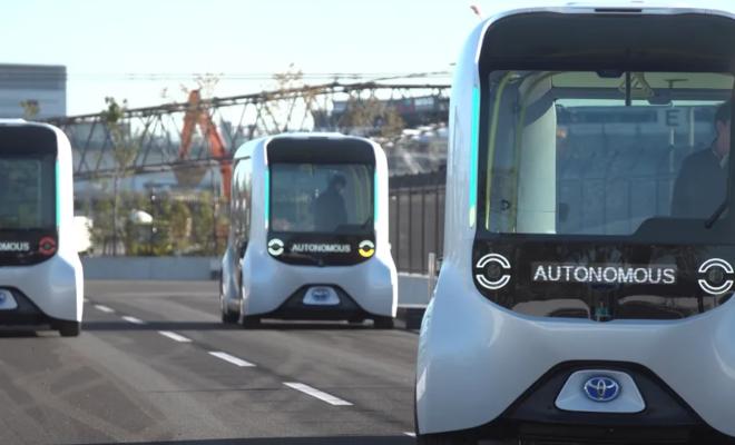 Toyota suspend son service de conduite autonome « e-Palette » après un accident avec un athlète olympique