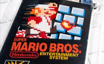 Quelqu'un vient de payer 2 millions de dollars pour une copie scellée de Super Mario Bros.