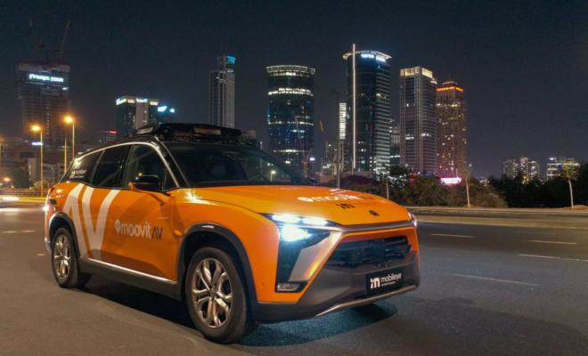 Intel annonce un service de taxi autonome pour Munich et Tel Aviv