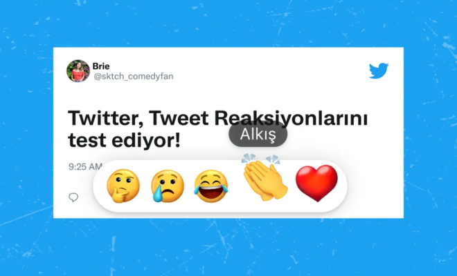 Twitter teste les réactions avec emoji pour les tweets